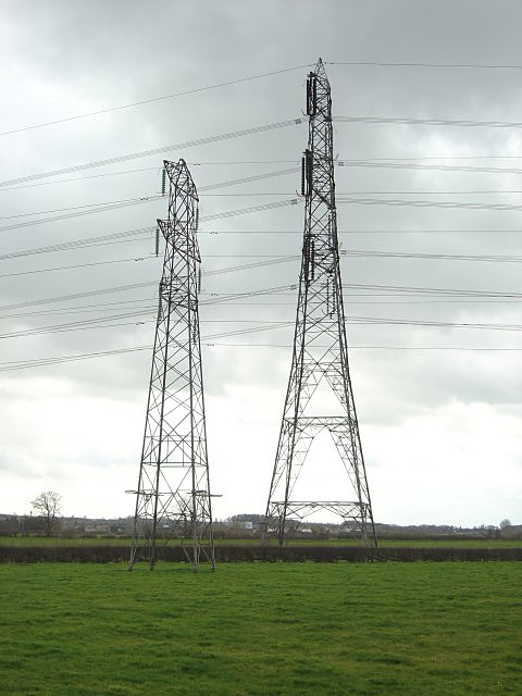 Pylons near Kingston