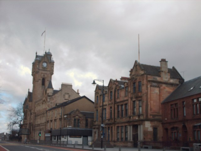 Rutherglen Town hall and Library