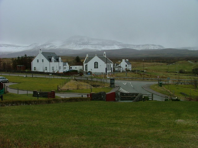 Church and Houses at Staffin