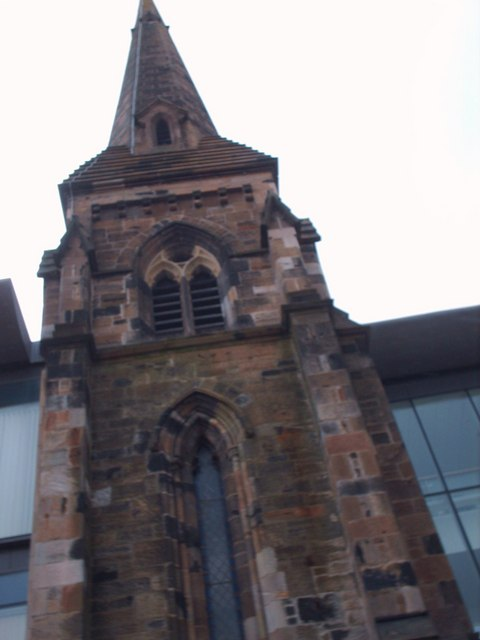 Tower of The United Free Church. Rutherglen