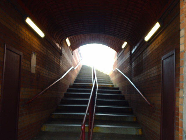 Stairway to Burnside Train Station