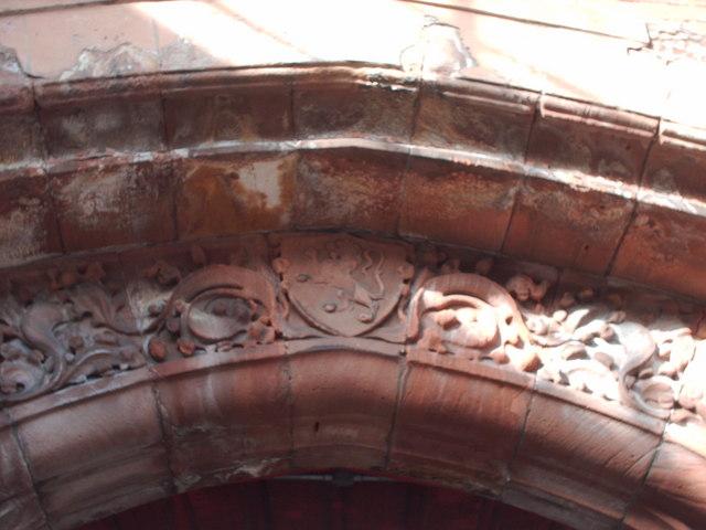 Carvings Above Burnside Station Entrance