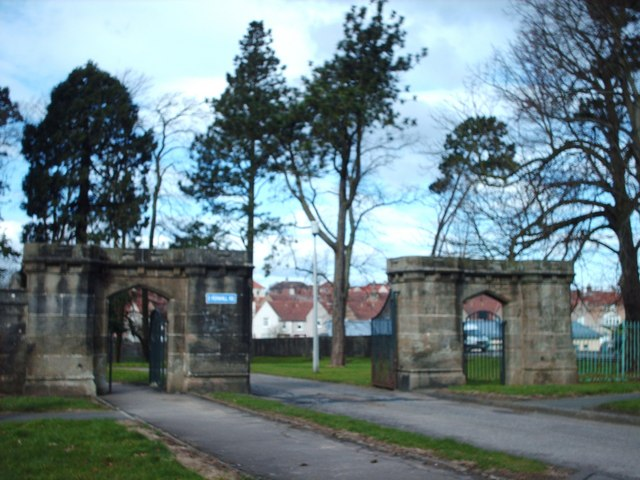 Former Gateway to Castlemilk Estate