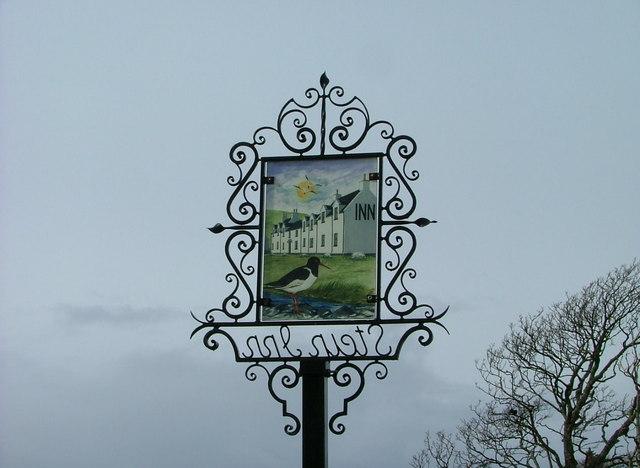 Sign for The Stein Inn