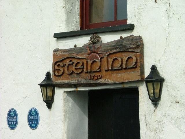Stein Inn Sign
