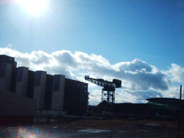 Towards The Crane