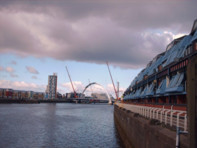 River Clyde at Lancefield Quay