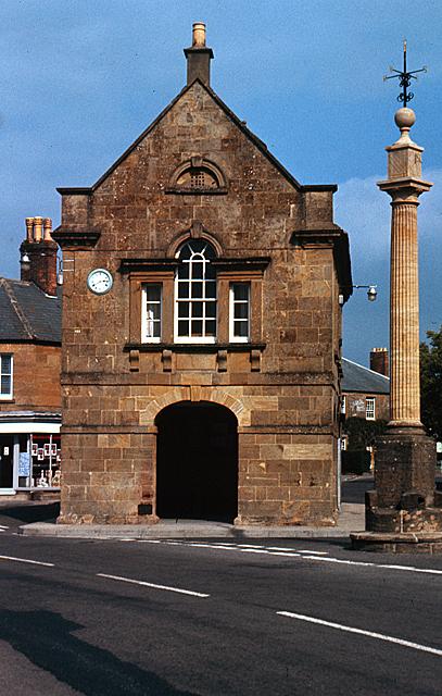 The Market House and Market Cross, Martock