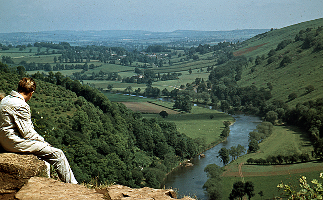 The view from Symond's Yat Rock