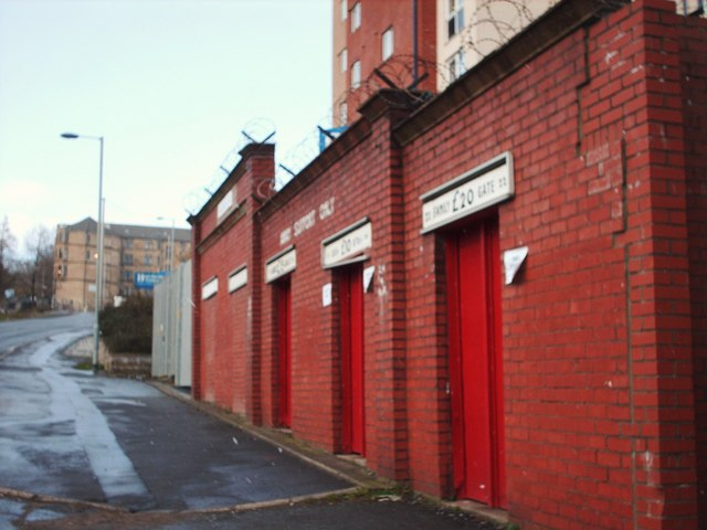 Gates at Firhill