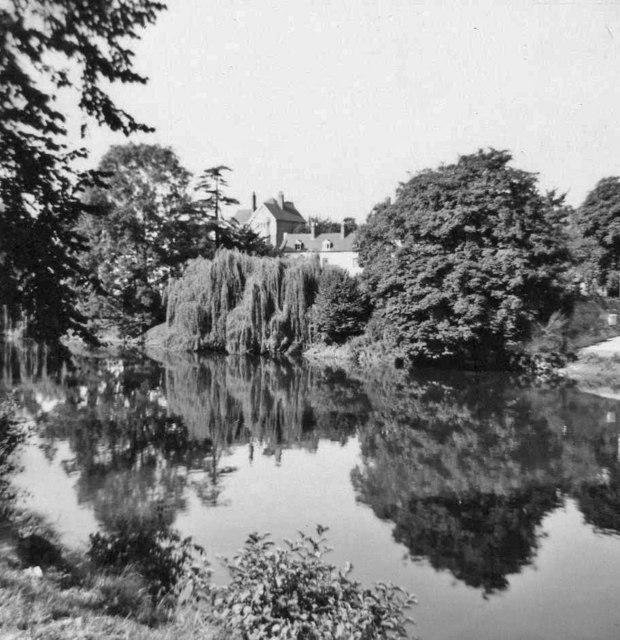 River Teme at Ludlow, Shropshire taken 1967