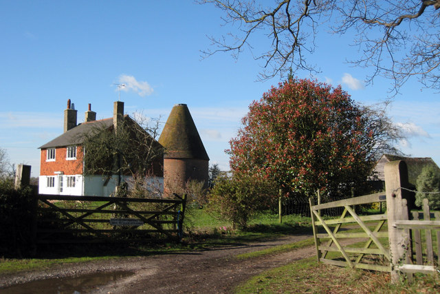 Oast House at Bexhill Farm, Frogs Hole Lane, Benenden, Kent