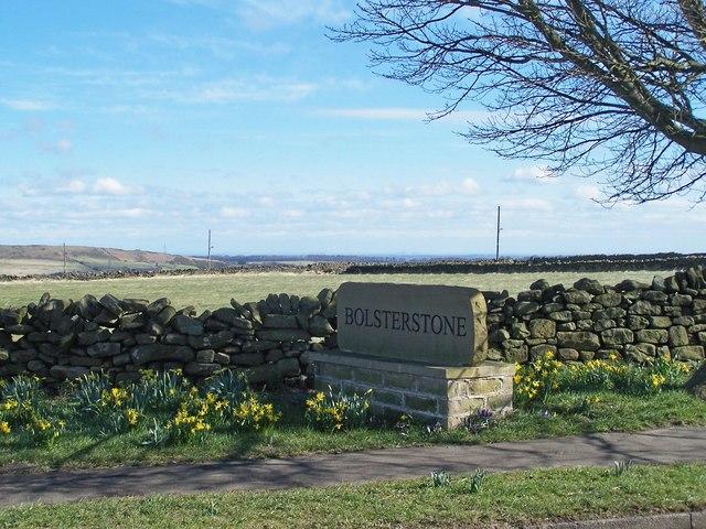 Bolsterstone Village Sign