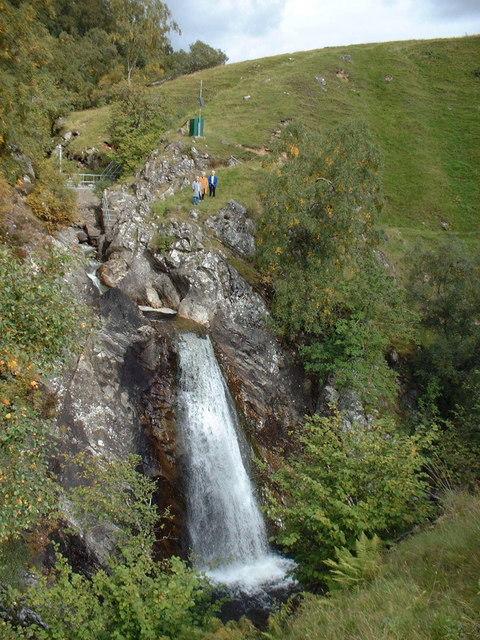 Urrard Falls on Allt Girnaig