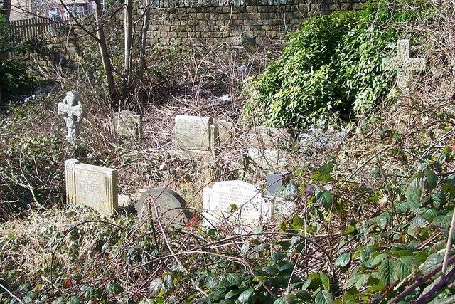 Overgrown Gravestones in Wadsley