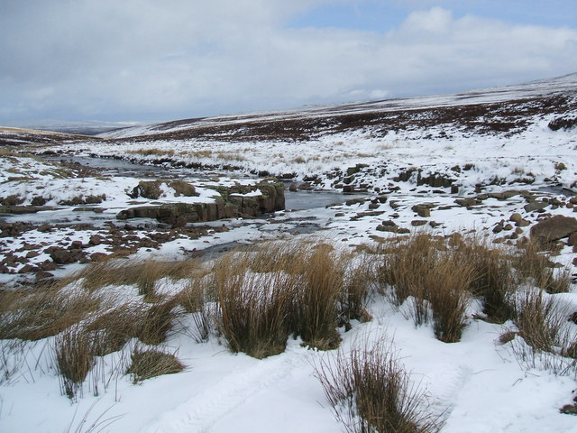The confluence of Swarth Beck and Maize Beck
