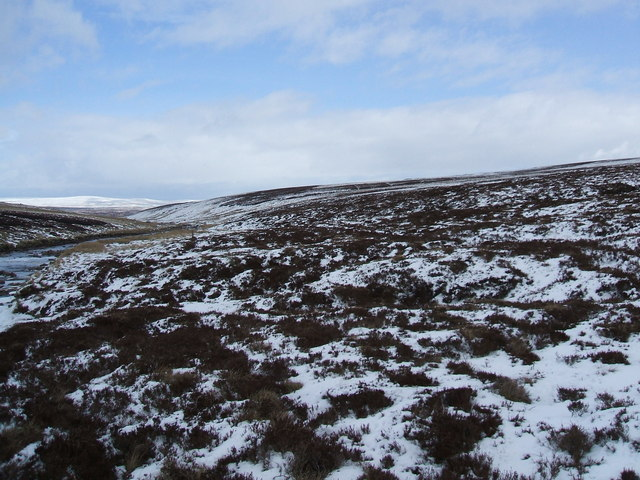 Looking down Maize Beck