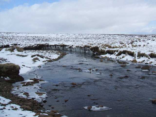 Ice feature on Maize Beck