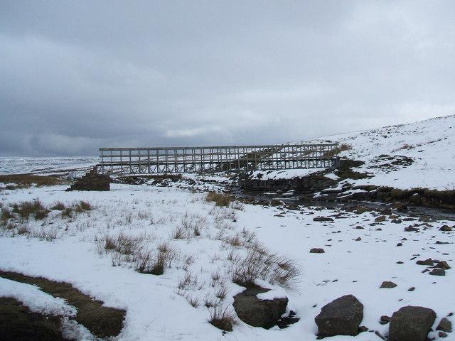Bridge over Maize Beck