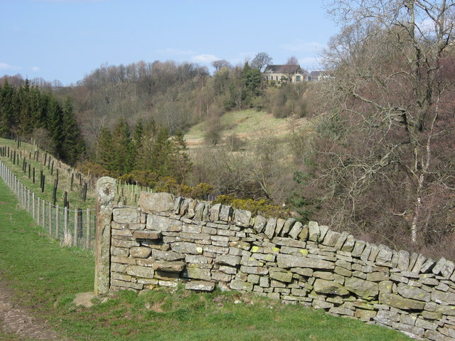 East Allen Dale south of the Town