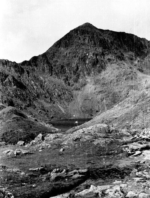 Snowdon and Glaslyn from the Pyg track