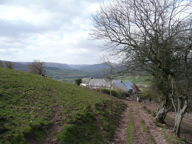 View down to Pentwyn