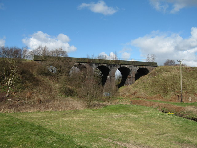 Railway Viaduct near Keckwick