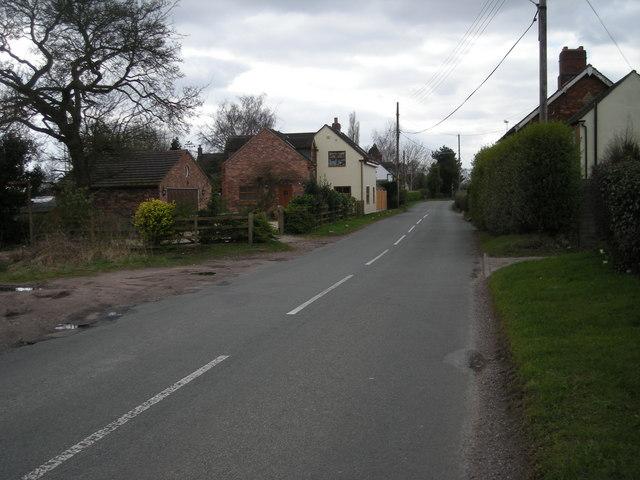 Kiddemore Green Road at Oakley