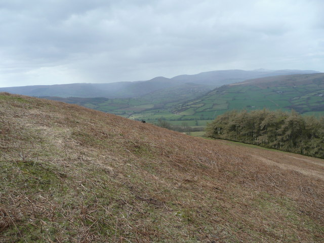 Looking towards the Beacons