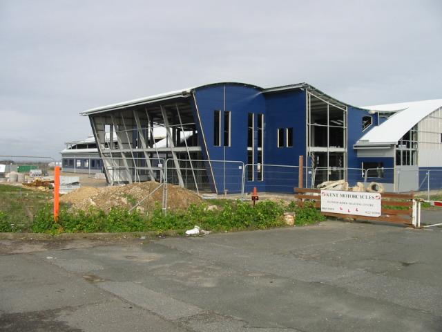 New building on Manston Business Park