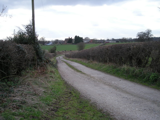 Track to Hyde Farm