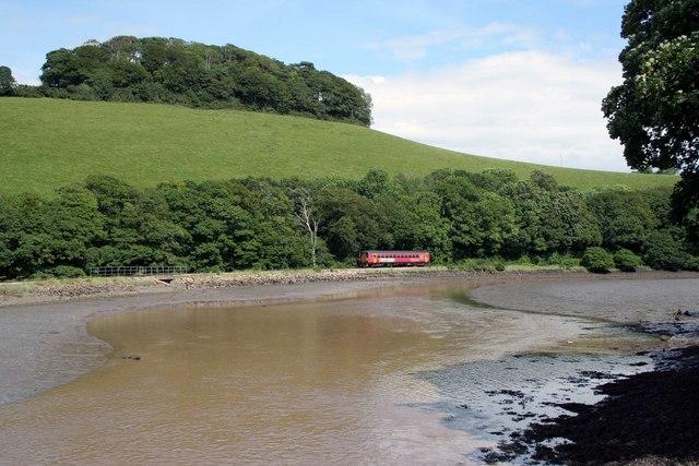Looe train at Terras bridge