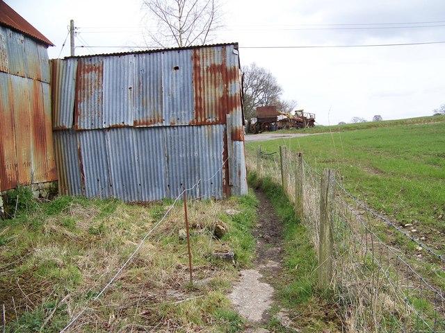 Footpath, Sutton Mandeville Mill