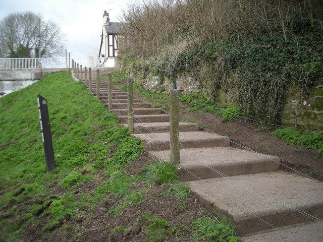 Steps to the pub