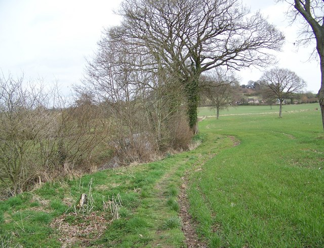 Footpath to Sutton Mandeville