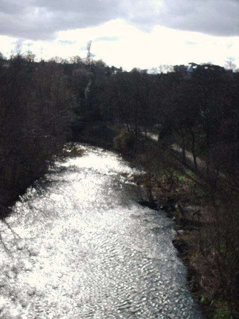 River Kelvin From Kirklee Road Bridge