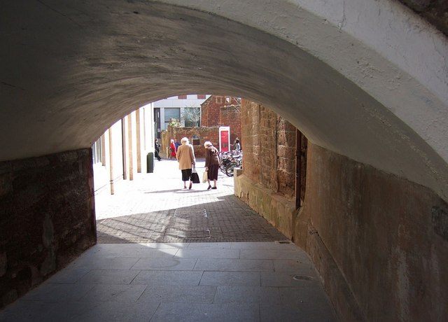 Arch, St Stephen's Church, Exeter