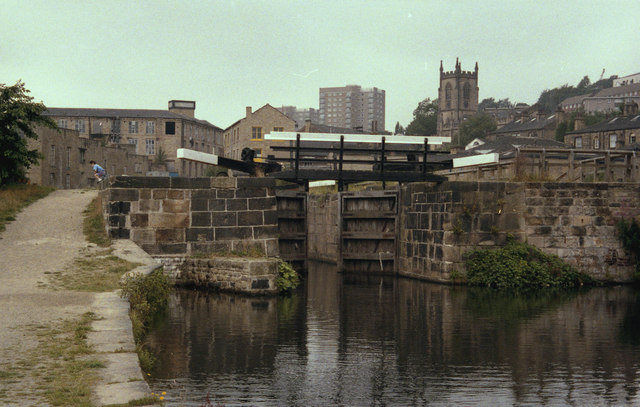 Lock No 1, Rochdale Canal, Sowerby Bridge