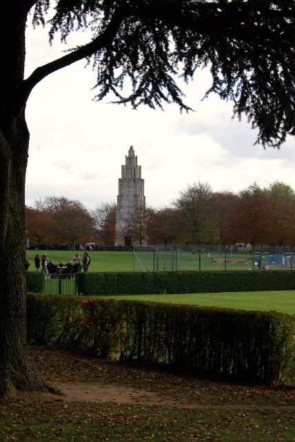The memorial, War Memorial Park