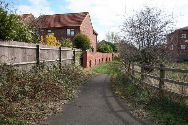 Footpath to Farndon Road