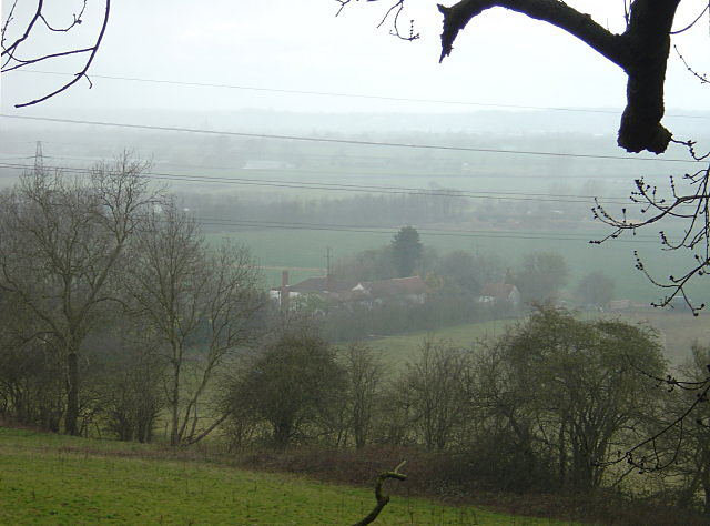 Trent Valley with hailstorm