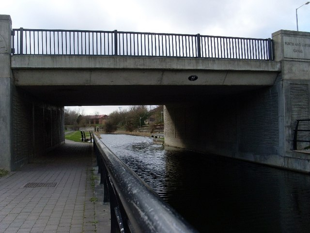 Forth and Clyde Canal Kilbowie Road bridge