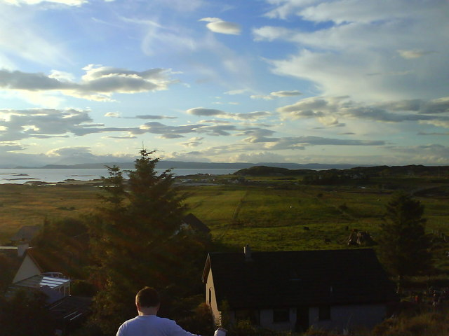 View From Cnoc Na Faire Hotel