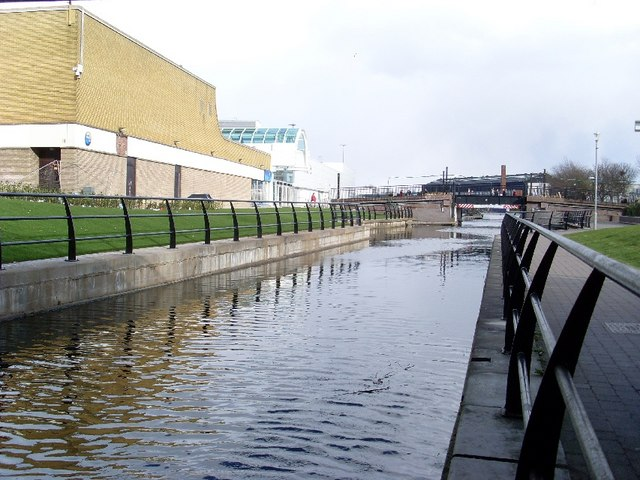Forth and Clyde Canal banks, Clydebank