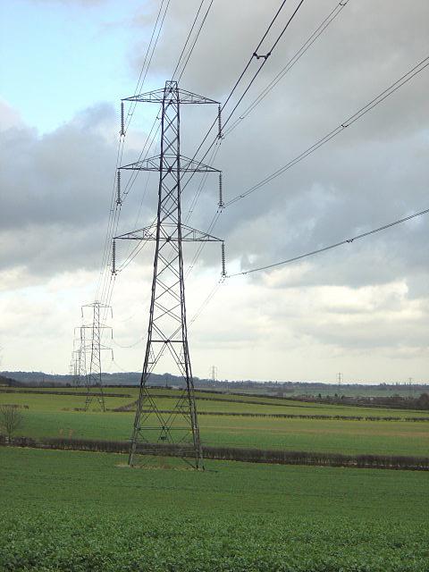 Power lines near Gotham