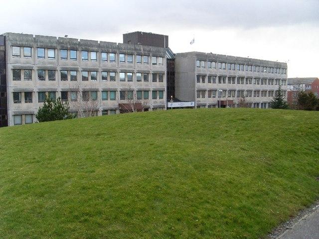 West Dunbartonshire Council Clydebank offices