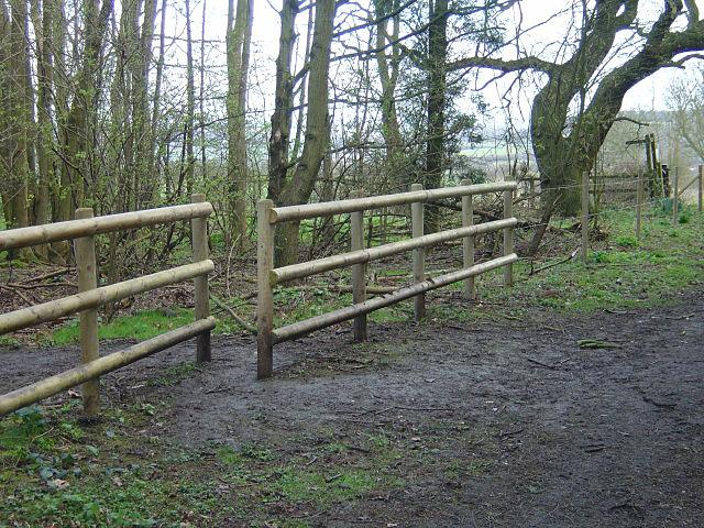 Non-public footpath