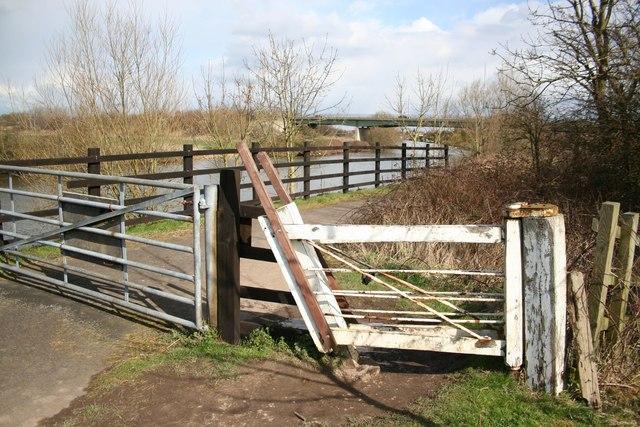 Trentside gate