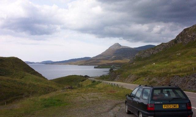 Loch Assynt-A837