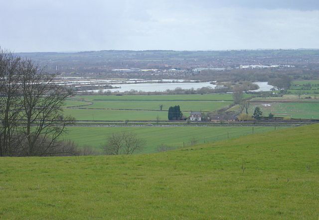 Trent Valley from Gotham Hill